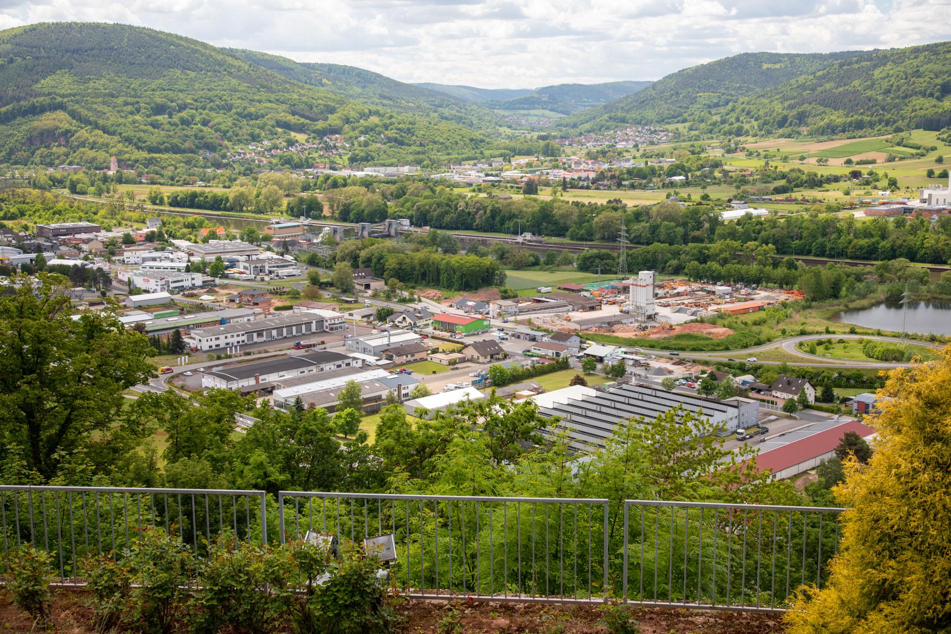 Engelberg parken kloster großheubach Durch Wein